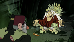 Gravity Falls Throne of Hands