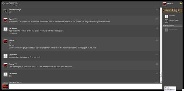 Chat log 4