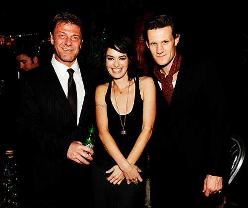 File:Sean Bean, Lena Headey, Matt Smith.jpg