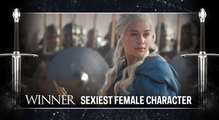 GOT AwardFrame SexiestFemale