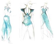 Daenerys costume concept art Season 4