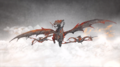 Aegon sisters dragons.png