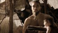 Drogo and Rhaego 2x10