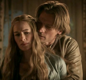 Jaime and Cersei 1x03