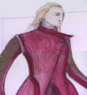Jaime costume Season 1 concept art