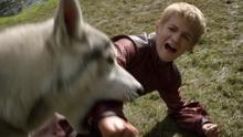 Nymeria bites Joffrey