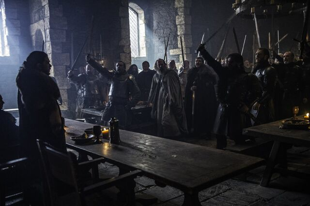 File:Jon Snow is declared King in The North Season 6 Episode 10 Preview..jpg