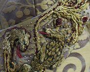 308 Sansa wedding dress embroidery 3