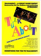 Talkabout 1990 Flyer Ad