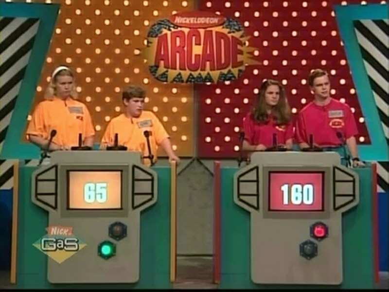90s kids game shows - nick arcade
