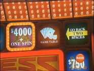 $4,000 + One Spin