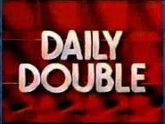 Jeopardy! Season 8 Daily Double Logo