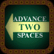 Advance Two Spaces