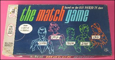 vintage top bottom match game