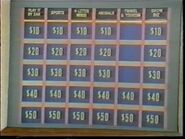 Jeopardy! 60s game board