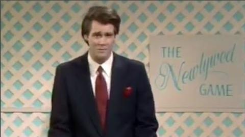 Jim Carrey in The Newlywed Game Parody - In Living Color (1990)