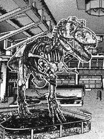 Skeleton T-rex Alien