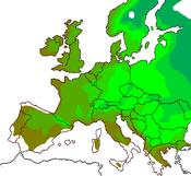 EU Hardiness 4 to 9
