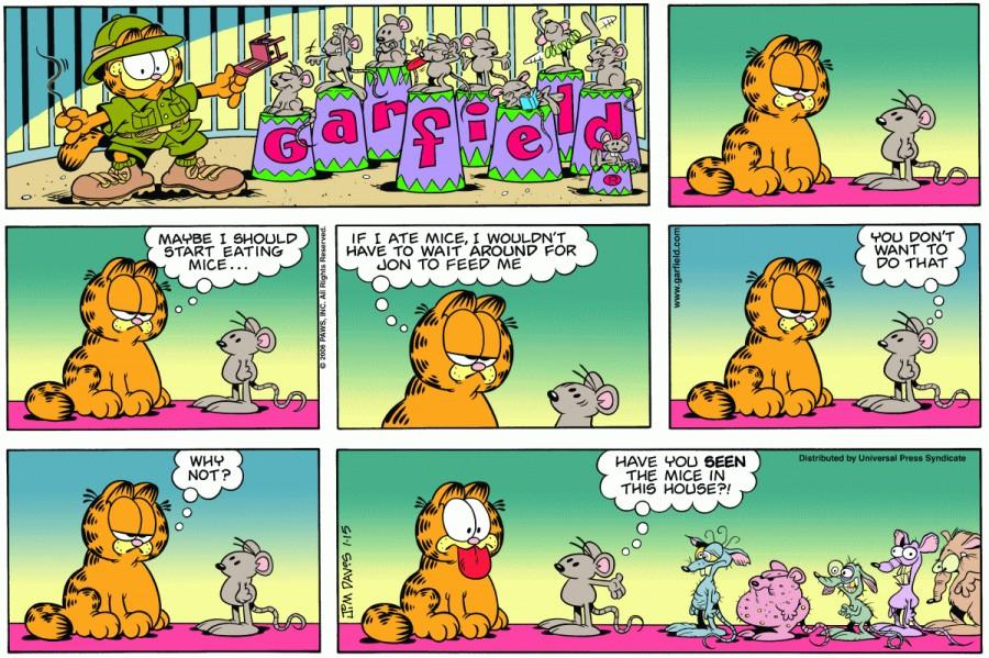 The Mice Garfield Wiki Fandom Powered By Wikia