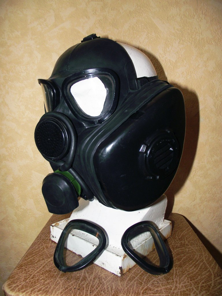 Gas Mask Lenses Russian Pmk Prototype Gas Mask