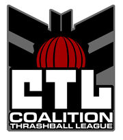 Coalition Thrashball League logo