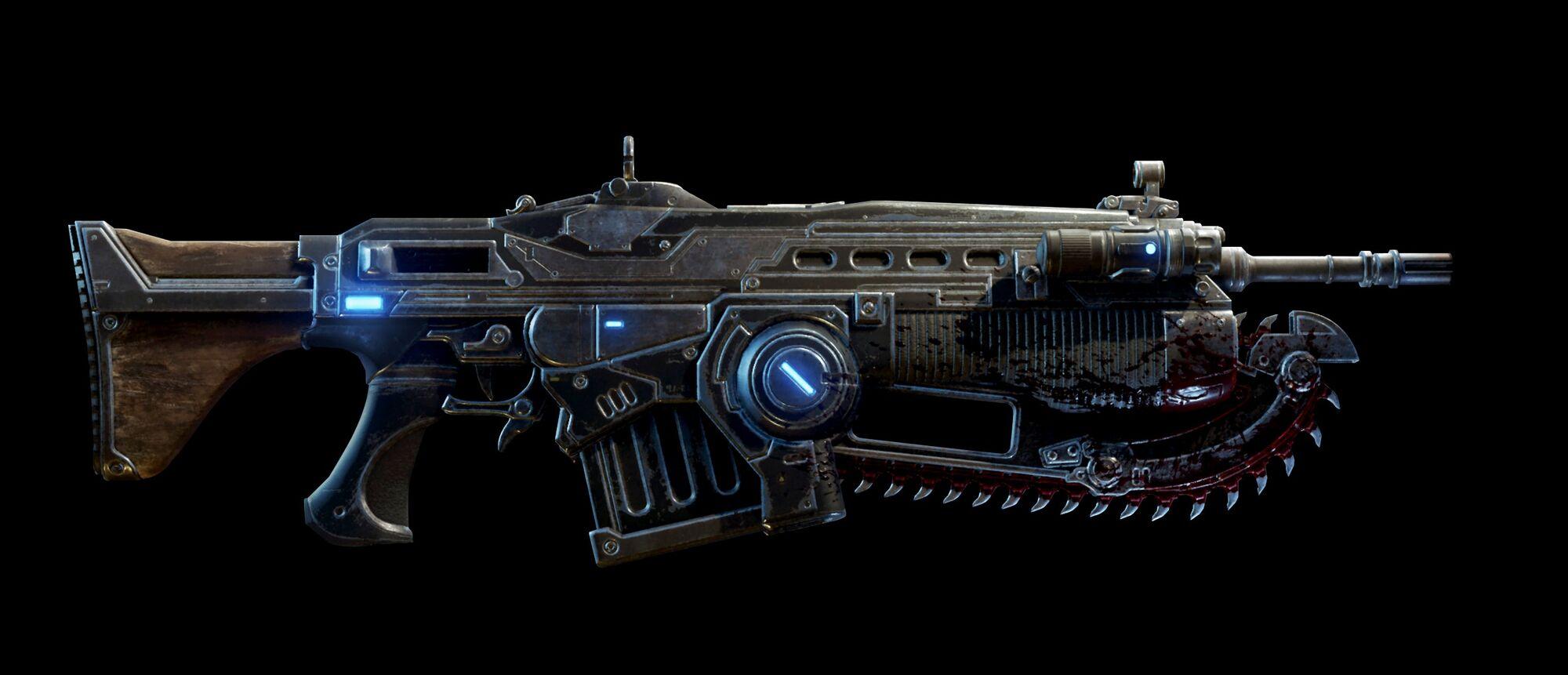 Mark 1 Lancer Assault Rifle | Gears of War | Fandom powered by Wikia