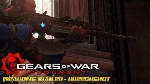 Gears of War Judgment - Weapons Trailer - Breechshot