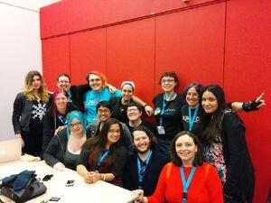 Feminist hacker lounge 2014