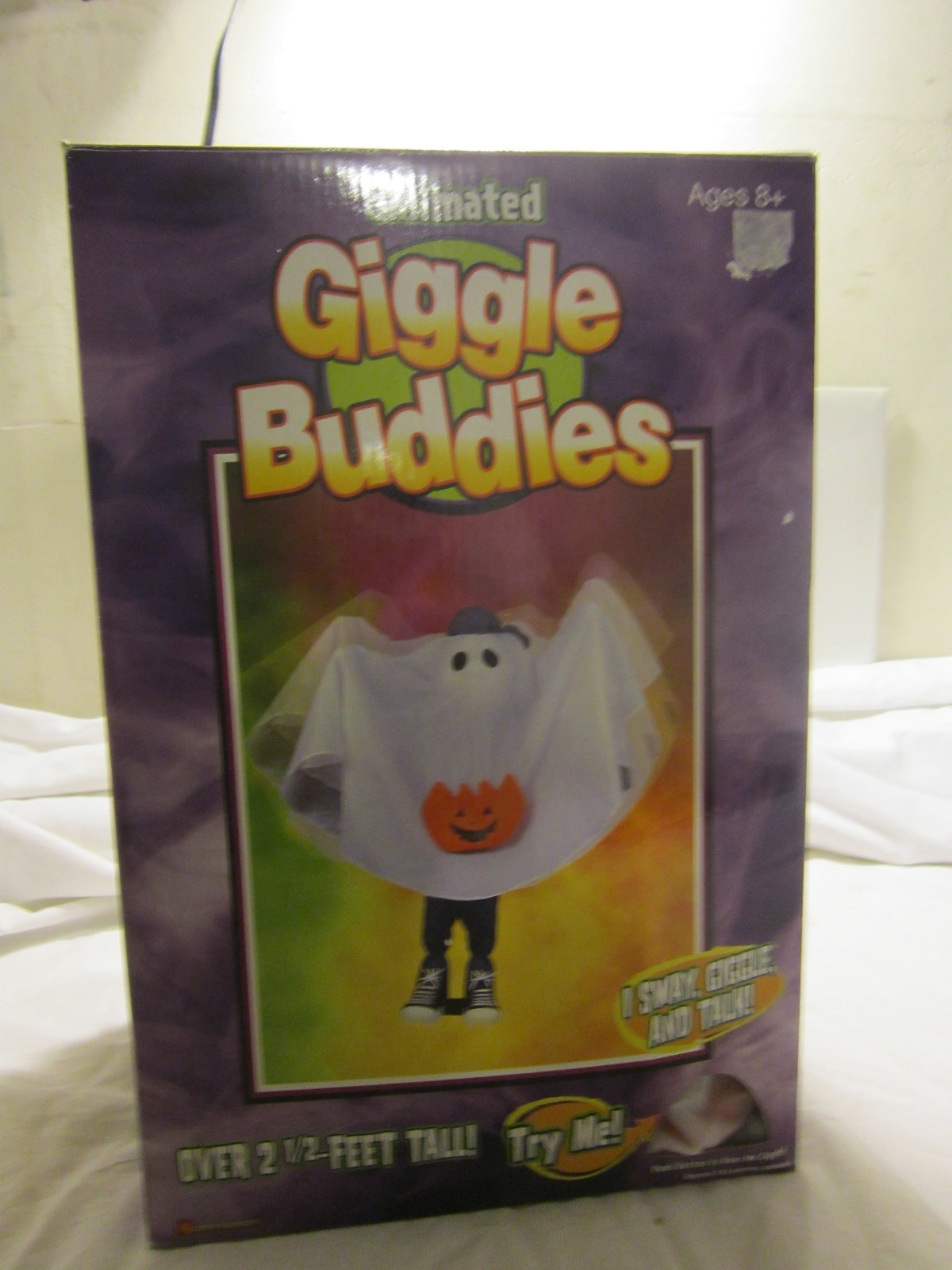 Giggle buddies gemmy wiki fandom powered by wikia for Animated floating ghost decoration
