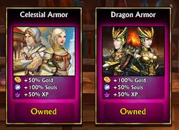 500 gems armors