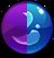 Gem Purple Blue