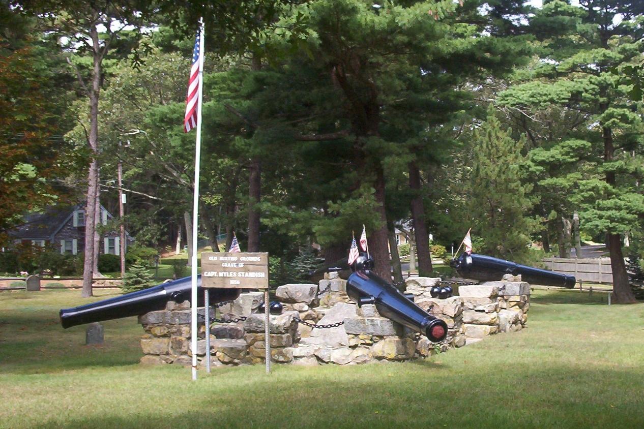 Standish Burial Monument