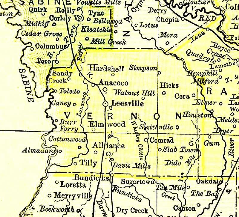 Vernon Parish Louisiana Familypedia Fandom Powered By
