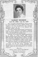 Shirley Sermersheim Memorium