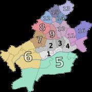Ortsbezirke von Frankfurt am Main