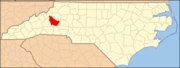 North Carolina Map Highlighting Burke County.PNG