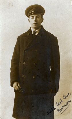 Norman Phillips RNAS 1916, son of Catherine Midleton Burgess