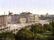 Wien Burgtheater um 1900
