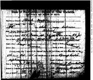 Norton-Patrick 1905 death certificate