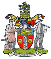 Rowley Regis Municipal Borough Coat of Arms
