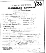 Kershaw Young 1885 marriage