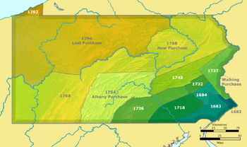Pennsylvania land purchases