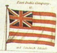 British East India Company Flag from Laurie