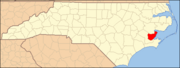 North Carolina Map Highlighting Pamlico County.PNG