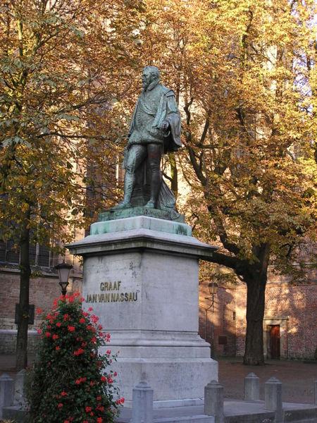 Johann VI von Nassau-Dillenburg (1536-1606) statue