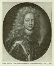Johan Willem Friso van Nassau-Dietz1687-1711