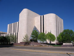 Potter County District Courts Building - Amarillo Texas USA