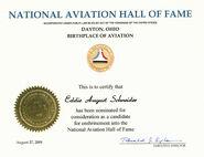 Eddie August Schneider National Aviation Hall of Fame August 27, 2008