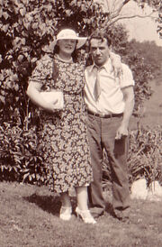 Nora Belle Conklin (1902-1963) and Ralph Freudenberg (1903-1980) on July 15, 1934 in Port Orange, New York