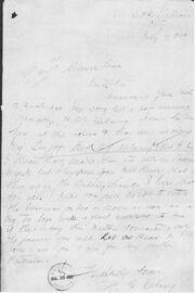 Elizabeth delaney letter